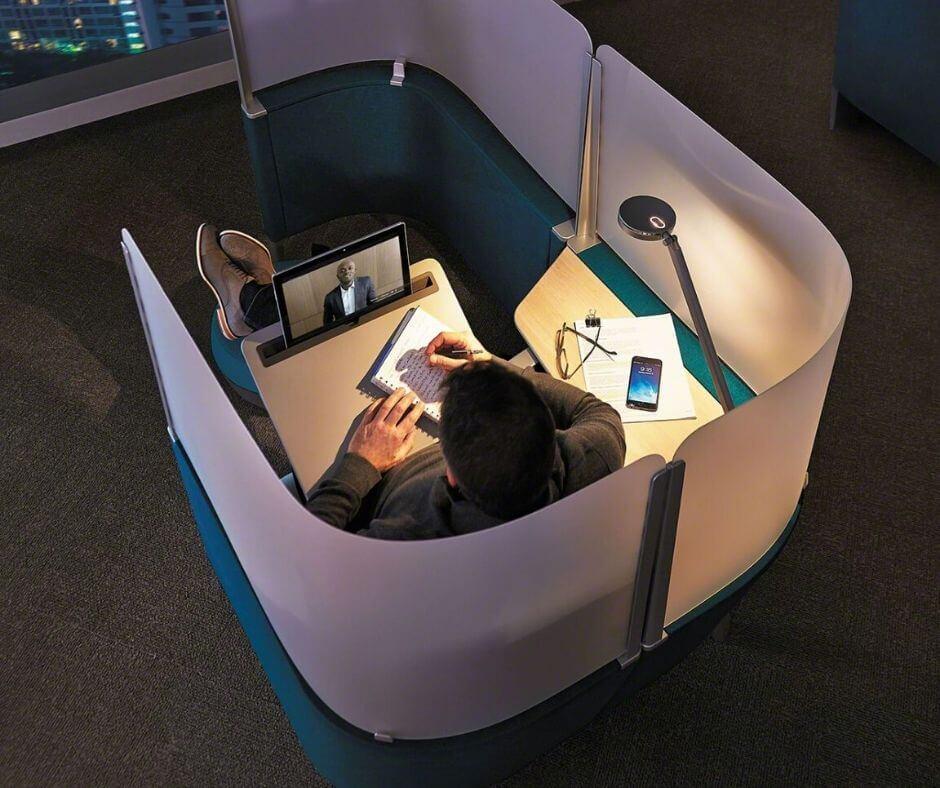 Sitznischen im Büro